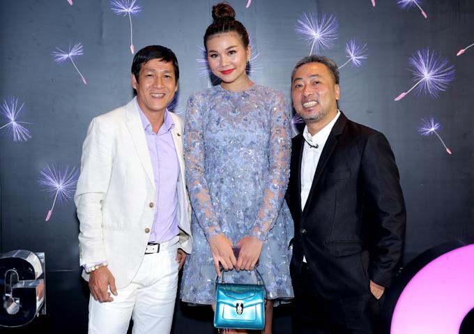 Cô hội ngộ đạo diễn Nguyễn Quang Dũng và nhiếp ảnh gia Minh Hòa.