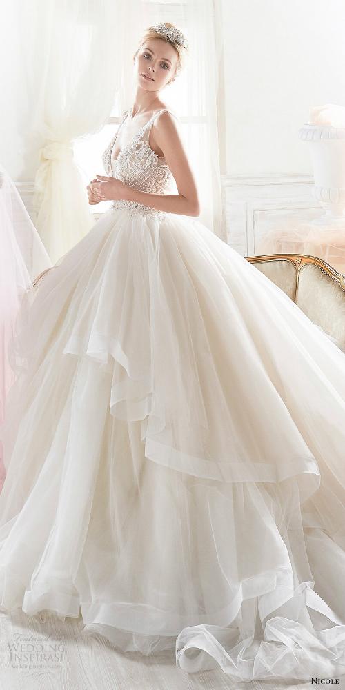 Xu hướng váy cưới 2018: Ngọt ngào và lãng mạn (Phần 1) - 4