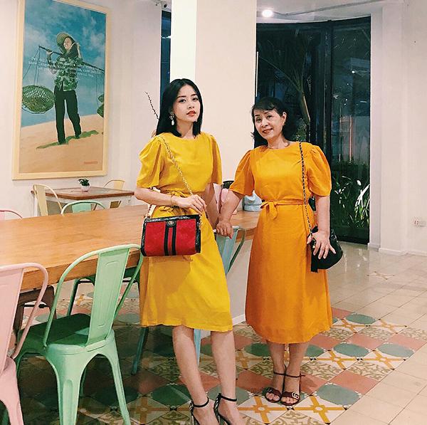 Đầu mùa nắng, sao Việt đua nhau diện trang phục rực rỡ sắc màu - 7