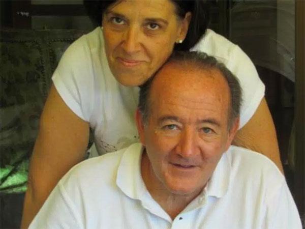 Ông bà Roberto Audano và Carolina Arregui. Ảnh: NS.