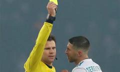 Sergio Ramos 'chơi xấu' nhất lịch sử Champions League