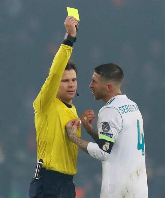 Sergio Ramos chơi xấu nhất lịch sử Champions League