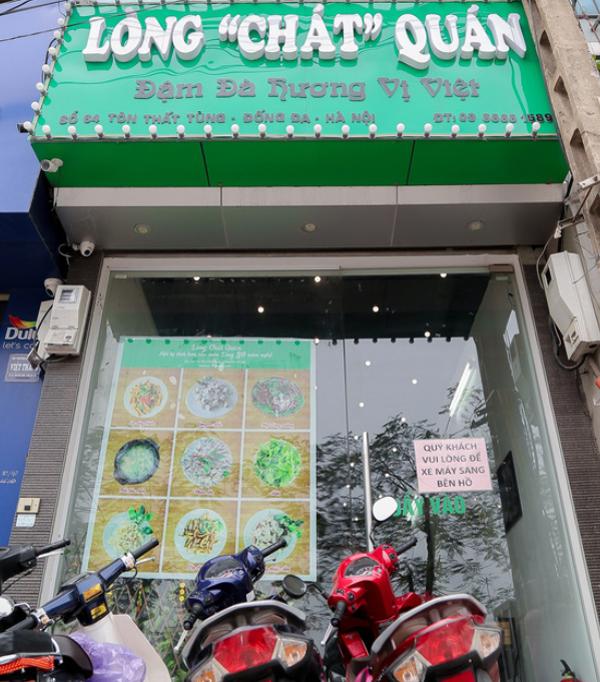 Liên hệ nhà hàng Lòng Chát Quán: Cơ sở 1 - số 64 Tôn Thất Tùng, Đống Đa, Hà Nội, đặt bàn - 0966 661 589; cơ sở 2 - số47A Hàng Than, Ba Đình, Hà Nội, đặt bàn - 0906 261 358.