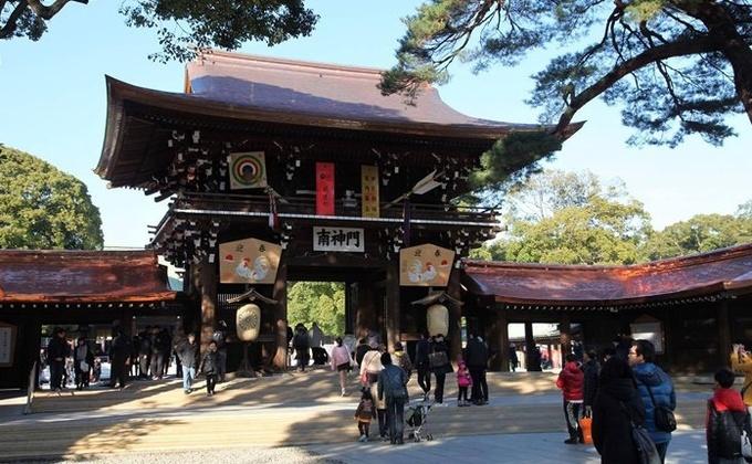 Meiji Jingu - ngôi đền đặc biệt giữa lòng Tokyo