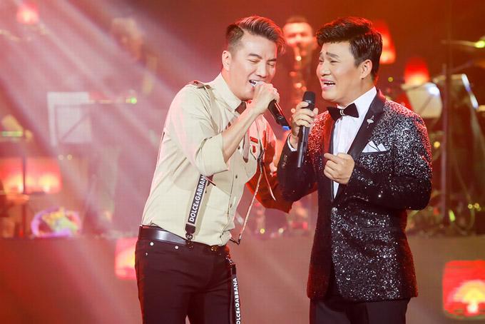 Tiết mục kết hợp Tình bơ vơ của Mr Đàm và Quang Lê là điều thú vị mà ban tổ chức muốn tạo sự bất ngờ cho khán giả.