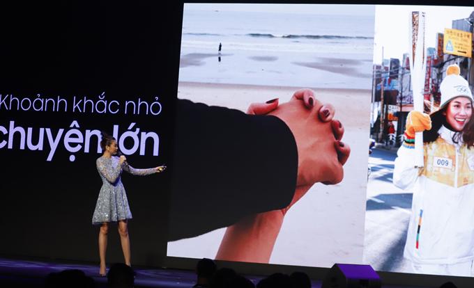 Thanh Hằng tiết lộ điều có ý nghĩa nhất với cô là giây phút nắm chặt tay bạn trai trên bãi biển. Ngoài ra, sự kiện Thanh Hằng rước đuốc tại Thế vận hộimùa đông 2018 ở Hàn Quốc cũng là kỷ niệm khó quên với cô.