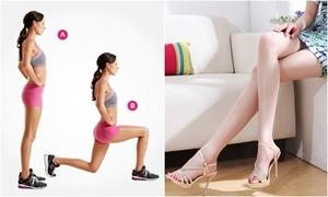 7 động tác đơn giản giúp đôi chân thon gọn đón hè sang