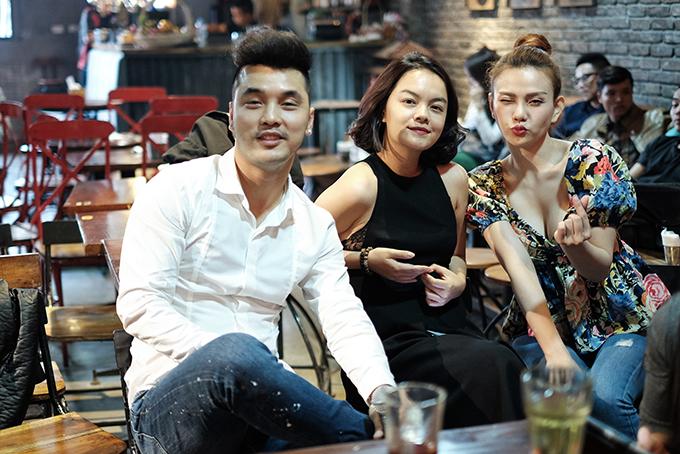 Thu Thuỷ, Phạm Quỳnh Anh lần đầu tái hợp Ưng Hoàng Phúc sau 14 năm