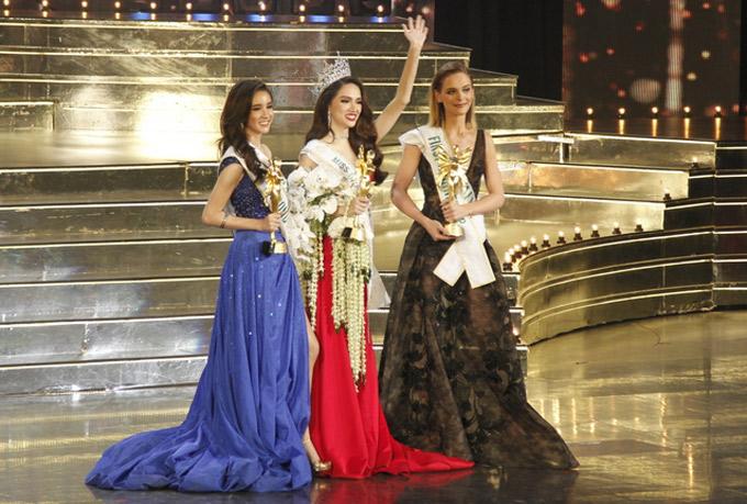 Đại diện Việt Nam xuất sắc vượt qua nhiều ứng viên để giành ngôi vị cao nhất trong đêm chung kết tổ chức tại Thái Lan.
