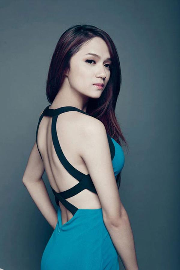 Hương Giang tại Vietnam Idol 2012.