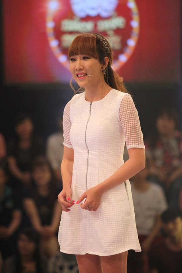 Cherry Minh Ngọc tại Thách thức danh hài 2016.