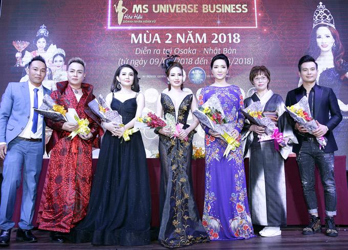 Chung kết Hoa hậu doanh nhân hoàn vũ 2017 diễn ra vào ngày 15/4 tại Osaka, Nhật Bản. Thí sinh thắng cuộc sẽ được nhận 20.000 USD tiền thưởng.