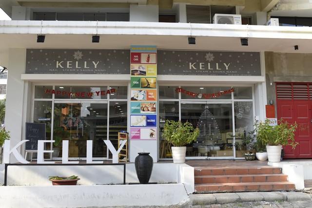 Kelly tọa lạc tại SA9-1 Mỹ Khánh 2, Phường Tân Phong, phú Mỹ Hưng, quận 7 (ngã tư Nguyễn Đức Cảnh và Phạm Thái Bường).