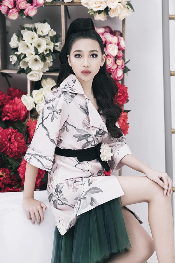 Tại các cuộc thi siêu mẫu nhí quốc tế, cô bé cũng giành được những thứ hạng cao và giành được nhiều giải phụ về trang phục đẹp, người mẫu ảnh.