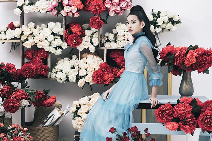 Năm 2017 vừa qua, Lan Vy còn thử sức ở cuộc thi Hoa hậu nhí tổ chức tại Ấn Độ. Đại diện của Việt Nam đã lọt vào vòng chung kết và giành được các giải thưởng như