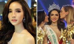 'Búp bê chuyển giới Thái Lan' chúc mừng Hương Giang đăng quang Hoa hậu