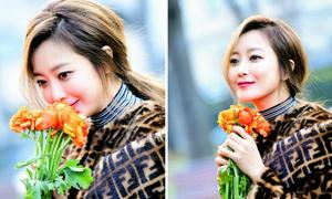 Nhan sắc tuổi 40 mặn mà của Kim Hee Sun