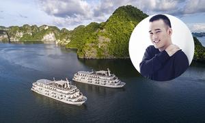 Lê Thanh Hoà làm show trên du thuyền giữa Vịnh Hạ Long