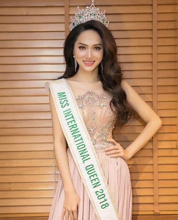Hình ảnh mới nhất sau khi đăng quang Hoa hậu Chuyển giới Quốc tế 2018- cuộc thi mở màn của Việt Nam nhan sắc trên đấu trường Quốc tế.