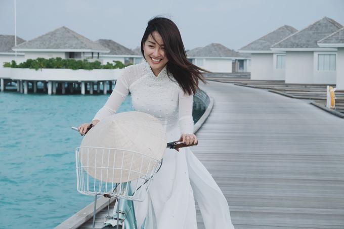 Kỳ nghỉ ở Maldives nắng ấm của MC Quỳnh Chi và Thuỳ Dung - 14