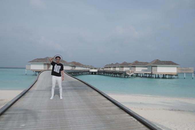 Kỳ nghỉ ở Maldives nắng ấm của MC Quỳnh Chi và Thuỳ Dung - 2
