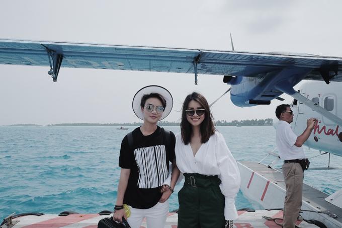 Kỳ nghỉ ở Maldives nắng ấm của MC Quỳnh Chi và Thuỳ Dung - 3