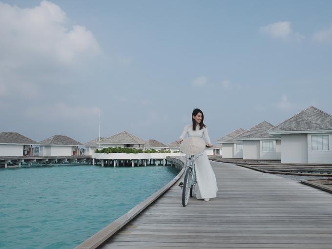 Kỳ nghỉ ở Maldives nắng ấm của MC Quỳnh Chi và Thuỳ Dung - 6