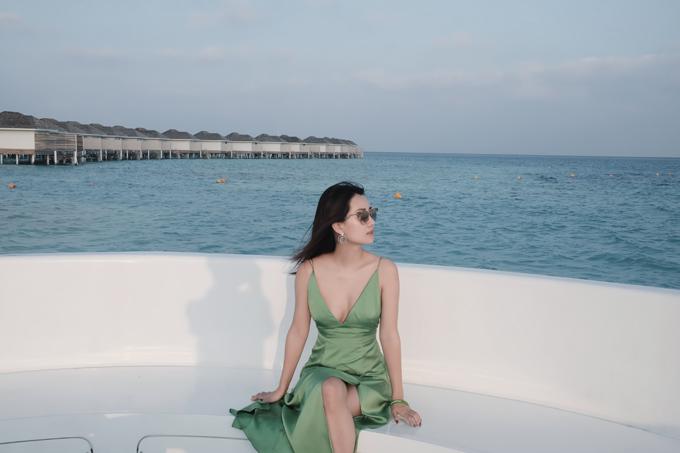 Kỳ nghỉ ở Maldives nắng ấm của MC Quỳnh Chi và Thuỳ Dung - 8