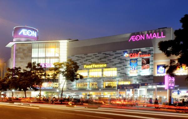 Trung tâm thương mại Aeon Mall Tân Phú nằm trong khu đô thị Celadon City (quận Tân Phú) mang đến cuộc sống tiện nghi cho cư dân.
