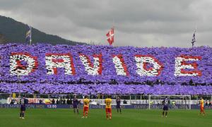 Fiorentina dành 13 phút tưởng niệm đội trưởng vừa đột quỵ