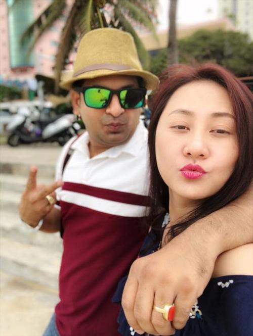 Ngọc Xuân vàChandra có khoảng 6 tháng hẹn hò trước khi tiến tới hôn nhân.