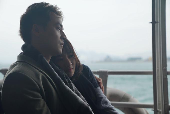 Đăng Khôi tình cảm với em gái mưa Thanh Vy ở Hong Kong - 4