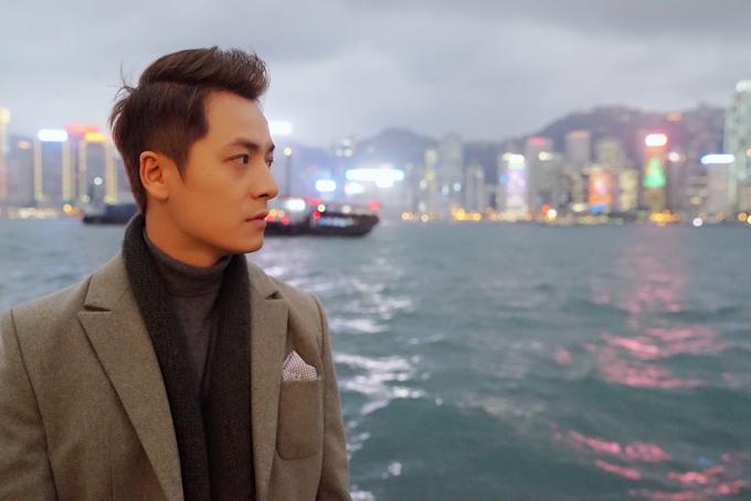 Đăng Khôi tình cảm với em gái mưa Thanh Vy ở Hong Kong - 8