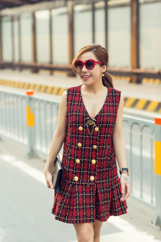 Á khôi Mai Diệu Linh khoe street style trẻ trung, cuốn hút - 9