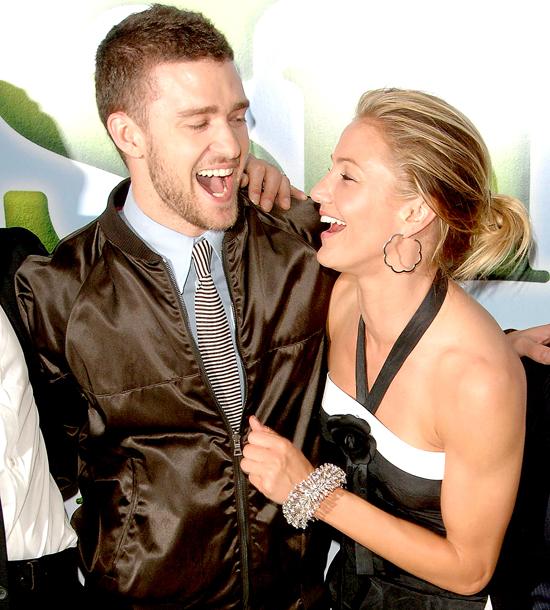 Justin Timberlake là một trong nhiều người tình cũ đẹp trai, quyến rũ của Cameron.