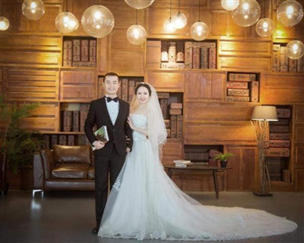 Vợ chồng Su Jingjie (trái) và Guo Yuting (phải). Ảnh: China Daily