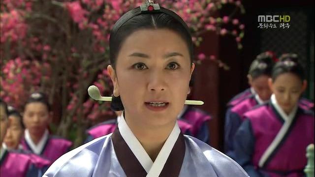 Kim Hye Sun trong Nàng Dae Jang Geum.