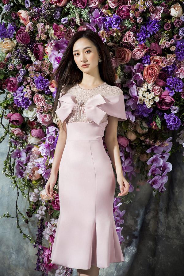 Jun Vũ đẹp mong manh khi diện thiết kế của Đỗ Long - 4