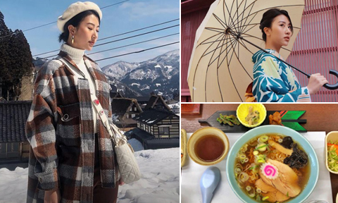 Chuyến đi Nhật trải nghiệm 'chưa từng có' của Quỳnh Anh Shyn