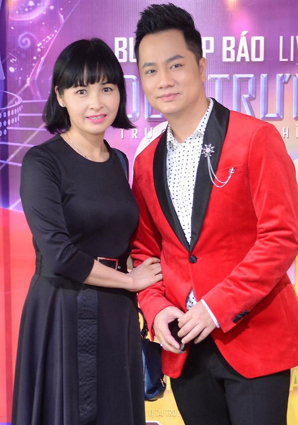 Ca sĩ Trang Nhung sẽ song ca cùng nam đồng nghiệp trong đêm nhạc tổ chức ở Hà Nội.