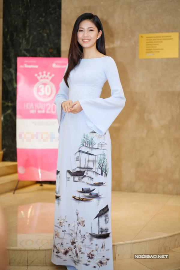 Đỗ Mỹ Linh, Kỳ Duyên đọ sắc tại họp báo kỷ niệm 30 năm Hoa hậu Việt Nam - 9