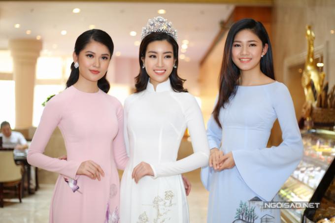 Đỗ Mỹ Linh, Kỳ Duyên đọ sắc tại họp báo kỷ niệm 30 năm Hoa hậu Việt Nam - 11