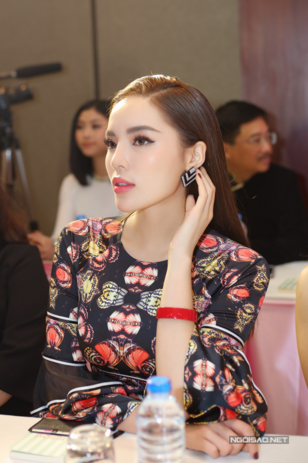 Đỗ Mỹ Linh, Kỳ Duyên đọ sắc tại họp báo kỷ niệm 30 năm Hoa hậu Việt Nam - 2