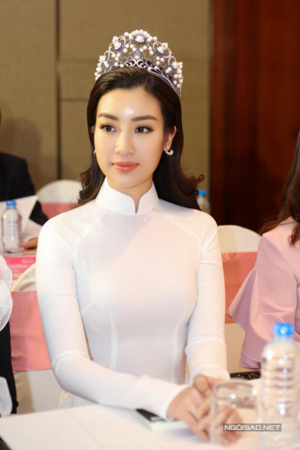 Đỗ Mỹ Linh, Kỳ Duyên đọ sắc tại họp báo kỷ niệm 30 năm Hoa hậu Việt Nam - 5
