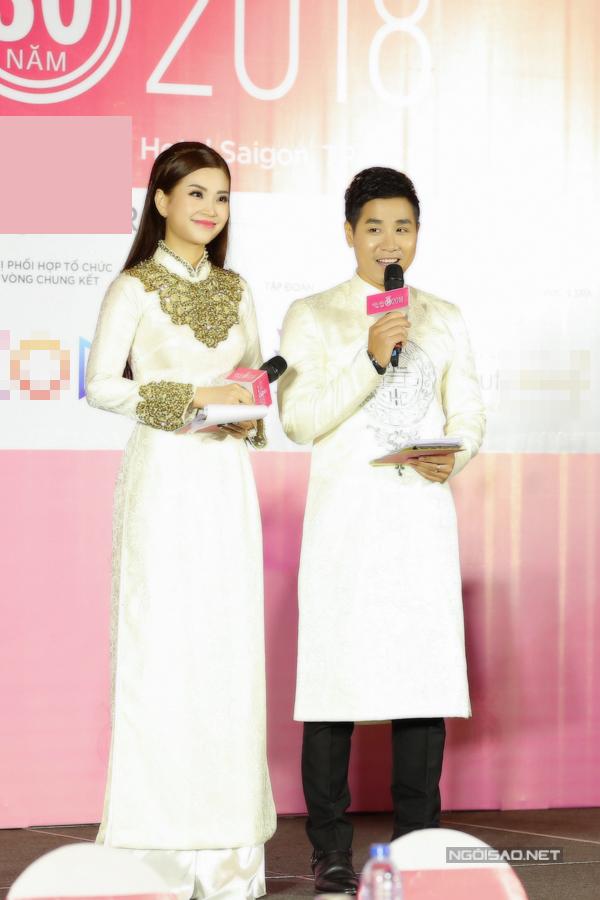 Đỗ Mỹ Linh, Kỳ Duyên đọ sắc tại họp báo kỷ niệm 30 năm Hoa hậu Việt Nam - 8