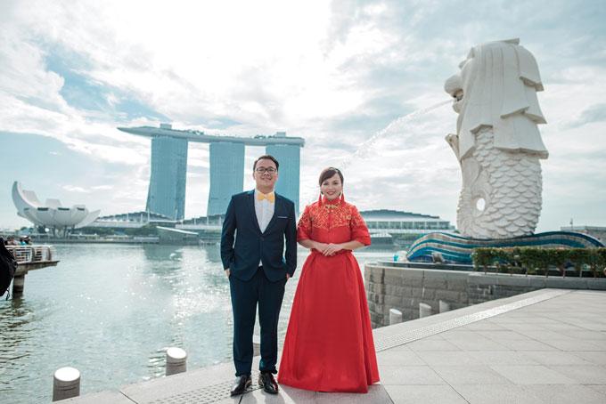 Ảnh cưới lãng mạn của cô dâu Việt và chú rể Malaysia - 8