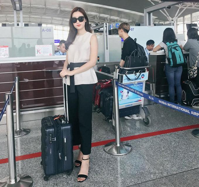 Thời trang sân bay của mỹ nhân Việt \'chất\' không kém sao ngoại