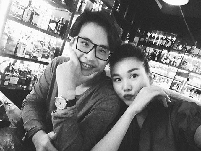 Thanh Hằng chia sẻ bức ảnh tình cảm bên cậu bạn thân Hà Anh Tuấn.
