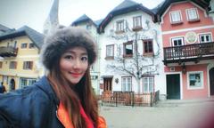 Selina của S.H.E khoe ảnh du lịch Áo ngày đầu tháng 3