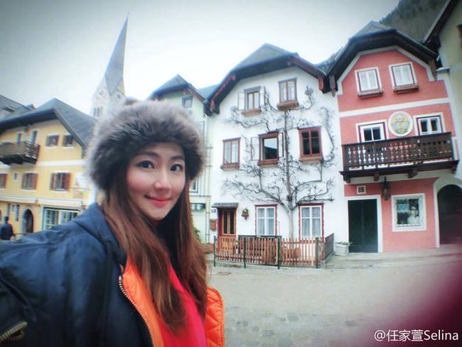 Selina tiết lộ trên hành trình đến với thị trấn cổ, cô ngắm cảnh hai bên đường và... ngủ quên lúc nào không hay.